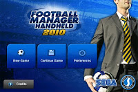 Football Manager Handheld, iphone, 2010, game, screen, image