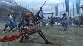 Sengoku Basara Samurai Heroes, wii, nintendo, screen, image, game