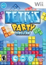 Tetris Party Deluxe Puzzle, game, box, art, screen, image