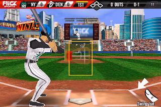 Flick Baseball Pro, game, screen, image, screenshot, iphone, apple