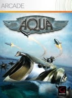 Aqua, Naval Warfare, xbox, game, box, art, screen