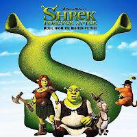 Shrek Forever After, cd, cover, soundtrack, movie