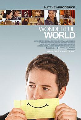 Wonderful World, movie, poster, film