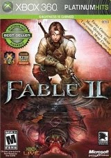 Fable 2 Platinum Hits, xbox, video, game