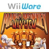Manic Monkey Mayhem, nintendo, wii, game, box, art, screen, image