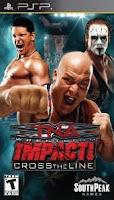 TNA Impact, Cross the Line, Wrestling, game, sony, psp, box, art, image