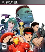 Marvel Vs. Capcom 3, Fate of Two Worlds, sony, ps3, game, box, art