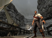 Captain Blood, game, xbox, screen, image