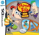 Phineas and Ferb Ride Again, game, box, art, screen, image