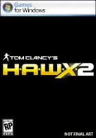 Tom Clancy, HAWX 2, pc, game, box, art, image, cover