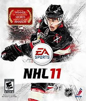 NHL 11, Ice Hockey, game, xbox, box, art, image
