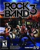 Rock Band 3, game, wii, xbox, ps3, box, art