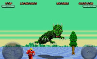 SEGA Genesis Ultimate Collection: Space Harrier II, apple, iphone, image, screen
