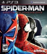 Spider-Man: Shattered Dimensions, sony, ps3, box, art