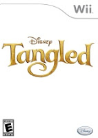 Tangled, game, wii, box, art
