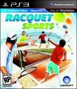 Racquet Sports, ps3, box, art