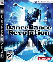 Dance Dance Revolution, ddr, ps3, game, box, art