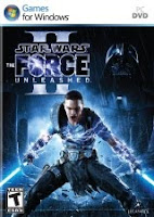 Star Wars: The Force Unleashed 2, box, art, pc, game