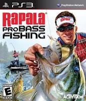 Rapala Pro Bass Fishing, video, game, wii, box, art