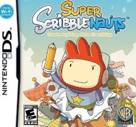 Super Scribblenauts, game, ds, box, art