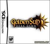 Golden Sun, Dark Dawn, nintendo, ds, box, art
