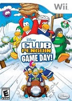 Club Penguin, Game Day, nintendo, wii