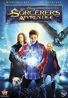 The Sorcerer's Apprentice, dvd, box, art, Nicolas Cage, Monica Bellucci,  movie