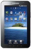 Samsung Galaxy Tab, GT-P1000, image, screen
