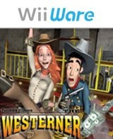 Fenimore Fillmore,-The Westerner, wii, game, box, art