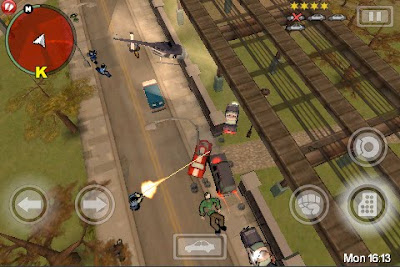 Grand Theft Auto: Chinatown Wars, game, ipad, apple, screen