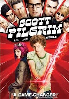 Scott Pilgrim Vs the World, dvd, box, art, movie
