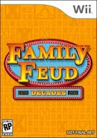 Family Feud Decades, game, nintendo, wii