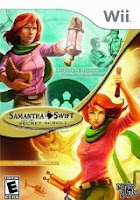 Samantha Swift and the Secret Scroll, game, wii, box, art