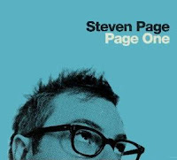 Steven Page, Page One, new, album, cd, box, art, audio