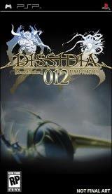 Dissidia 012 Final Fantasy, sony, psp