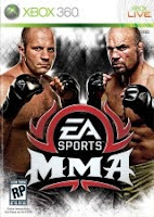 EA Sports MMA, xbox, box, art