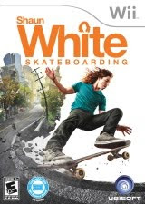 Shaun White Skateboarding, sports, game, nintendo, wii