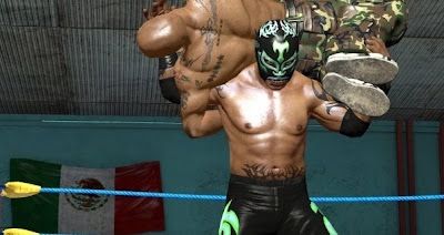 Lucha Libre AAA: Heroes del Ring, Wrestling, game, Sony, PS3, image, screen