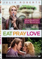 Eat Pray Love, movie, Julia Roberts, dvd, box, art