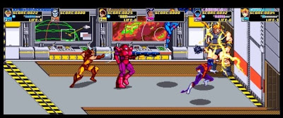 X-Men: The Arcade, game, ps3, sony, screen. image