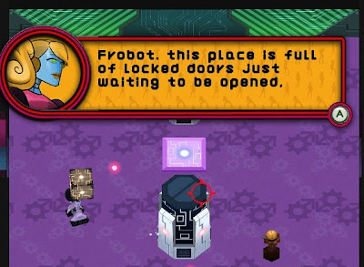 Frobot, pc, game, screen