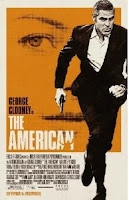 The American, DVD, box, art, George Clooney