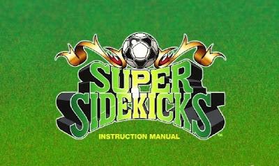 Super Sidekicks, Sony PS3, screen