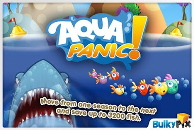Aqua Panic, iphone, game