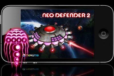 Neo Defender 2, game, screen, iphone