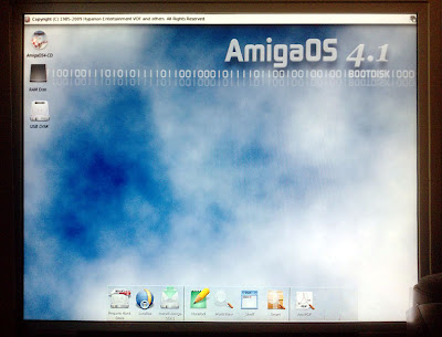 AmigaOne X1000, AmigaOS 4, screen