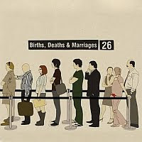 Births, Deaths & Marriages, cd, audio, cover