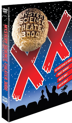 Mystery Science Theater 3000, MST3K, Vol. XX, DVD, movie, tv