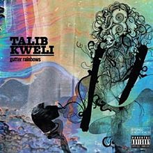 Gutter Rainbows, Talib Kweli, album, cover, new