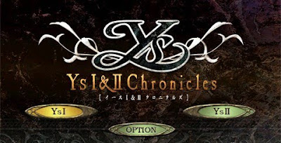 Ys I & II Chronicles, psp, game, screen